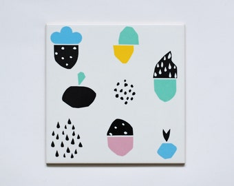 Screenprinted tile Collection