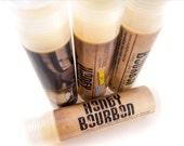 HONEY BOURBON Lip Balm - Beeswax natural whiskey whisky lip tube