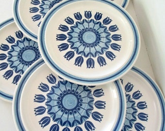Royalstone Tulip Time Dinner Plates - Set of 6