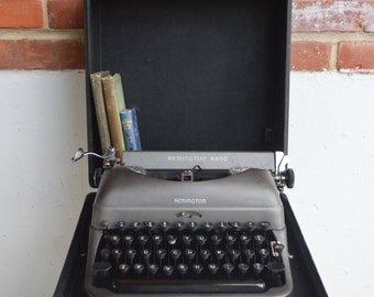 Remington De Luxe Rand Manual Typewriter