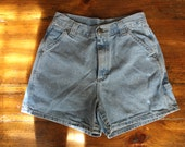 Riveted by Lee High Waisted Denim Shorts // Size 4