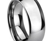 Extra Wide Classic Tungsten Wedding Band FREE SHIPPING