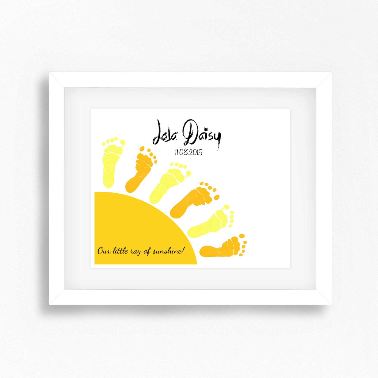 Footprints Wall Art - Elitflat
