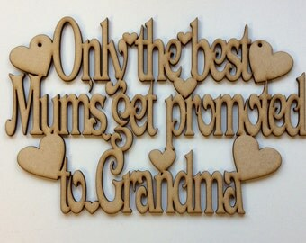 Only the best Mums get promoted to Grandma