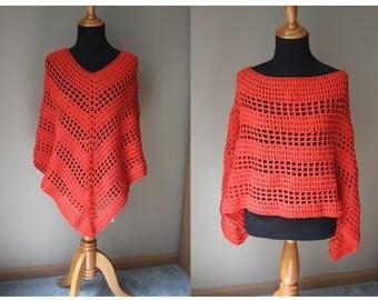 Versatile Crochet Poncho Pattern, Crochet Poncho Pattern, Boho Poncho Pattern, Poncho Pattern, V-neck Poncho Pattern, Instant Download