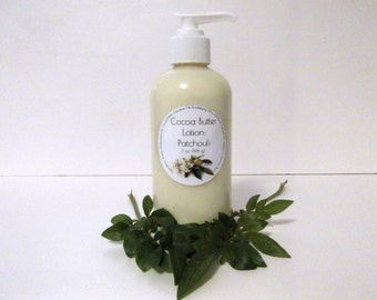 Patchouli Scented Cocoa Butter Lotion