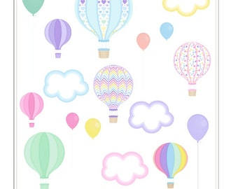G025- Up Up and Away Stickers