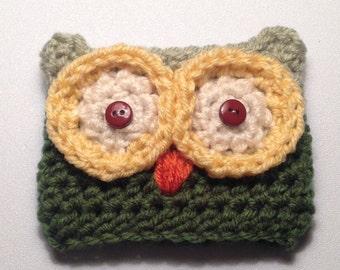Cute Owl Cup Cozy