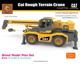 Cat Rough Terrain Crane