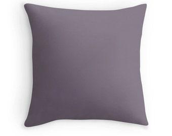 Dove Gray Pillow, Dove Gray Throw Pillow, Gray Decorative Pillow, Gray Toss Pillow, Gray Decor, Gray Pillow Case, Gray Bedding, Gray Room
