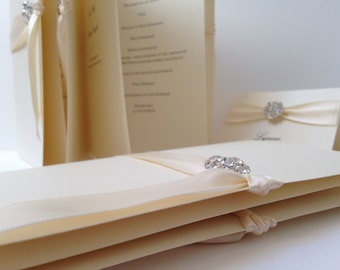 Order of Day Cards, Wedding Order of Ceremony, Order of Service, Wedding Itinerary,