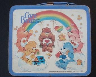 Care Bears Metal Lunchbox