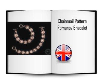 Chainmail Pattern Romanov Bracelet