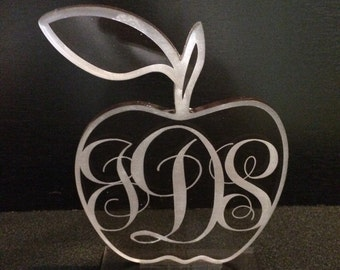 Nameplate - Teachers Apple