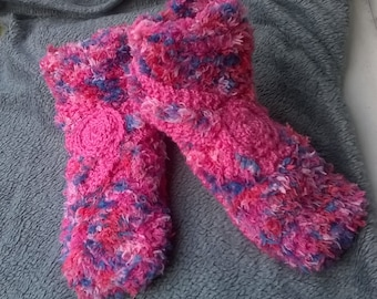 Woman slippers / woman slippers / knitted slippers