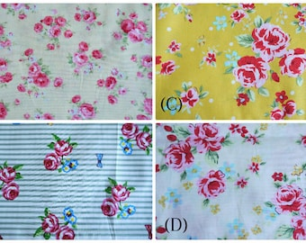 Select Your Pattern COT POCKET Crib Organizer Rose Flower Cot Tidy Storage Unit Crib Hanger Cot Rail Caddy Nursery Bedding Decor