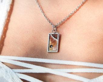 Silk Moth Necklace