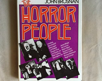 THE HORROR PEOPLE Hardcover Nonfiction