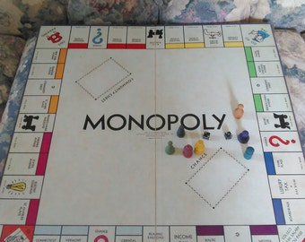 Vintage 1935 Parker Brothers Monopoly Game