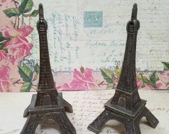 Vintage Eiffel Tower Salt and Pepper Shakers