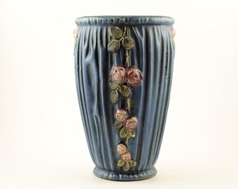 Weller Pottery - Drapery Pattern Vase
