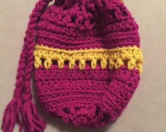Handmade Crocheted Pouch