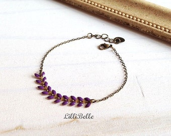 Bracelet Ayanna - lilac