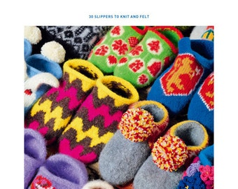 Arne and Carlos: hand-knitted Room Shoes