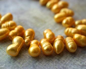 Sunburst Yellow, Pearl Beads, Beads