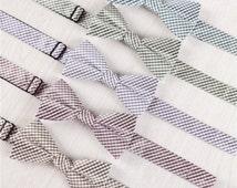 silk wedding bowties.blue silk bowtie.adjustable yellow bowties.pink plaid bow ties.mens red bowtie.bowties in khaki.wedding gifts+bt63