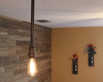 Bathroom Lights Hanging From Ceiling single light industrial wall sconce or hanging ceiling