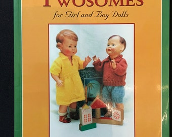Classic Twosomes for Girl & Boy Dolls 2001 by Marjory Fainges