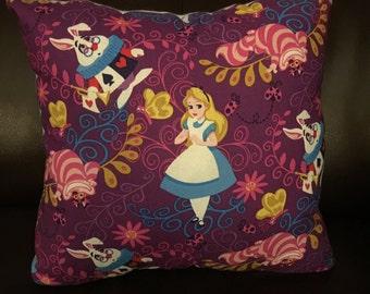 Lost in wonderland Alice in wonderland pillow