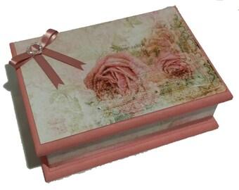 Rambling Rose Keepsake Box