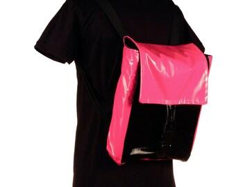 Vinyl Club Kid Backpack Rave Cyber Goth Custom All Colors
