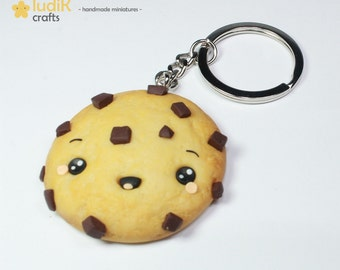 Kawaii cookie key chain (FIMO)