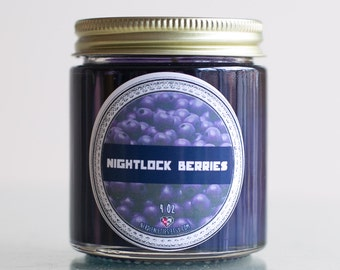 Nightlock Berries Hunger Games Soy Candle (4 oz)
