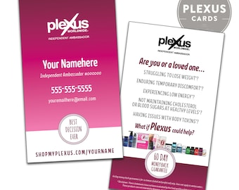 Plexus Business Card Design - [PRINTED & SHIPPED]