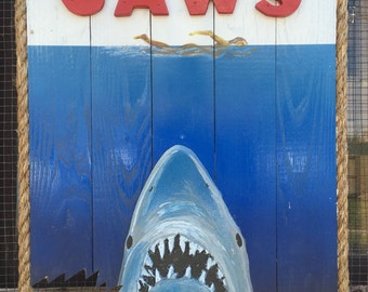 Jaws Movie sign