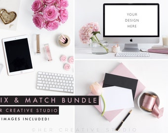 Styled Stock Photo Bundle | Ipad, Computer and Picture frame | Styled Photography | Digital Image