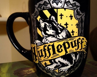 Hufflepuff Crest Mug