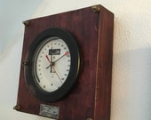 Superstructure...the Test gauge that became a wall clock.