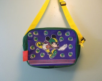90s Mickey Mouse Football Mini Bag