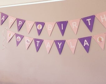 Personalised Princess bunting