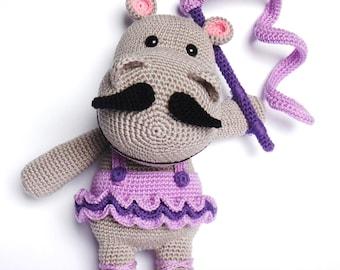 HIPPO Ballerina Crochet Pattern, Mika