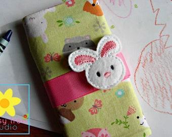 Crayon Roll, Crayon Wallet, Crayon Caddy, Crayon Holder, Crayon Roll Up, Crayon Keeper, Crayon Organizer, Crayon Tote, Fox, Bunny, Squirrel