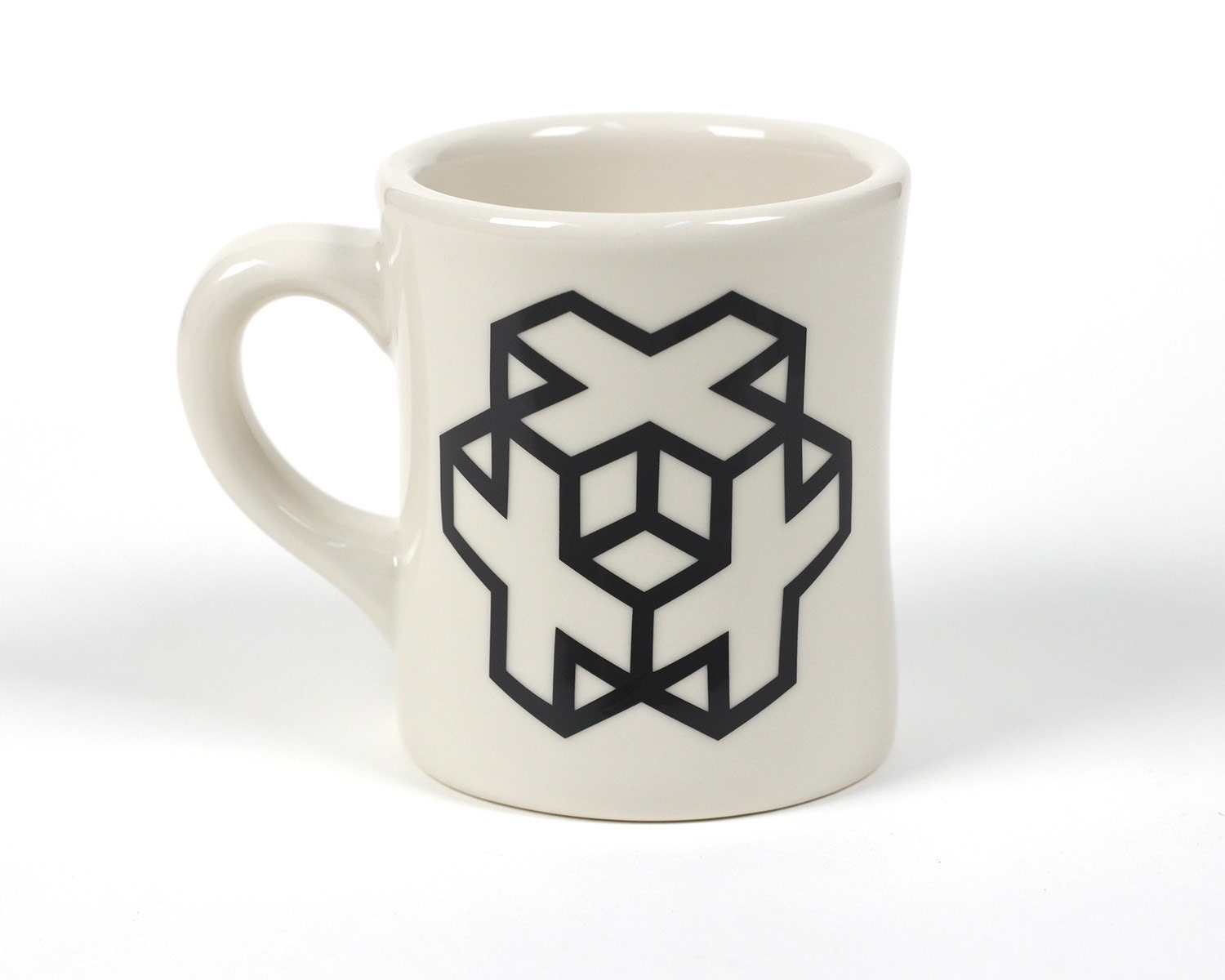 Cross cube ceramic coffee mug cool designs interesting for Cool coffee designs
