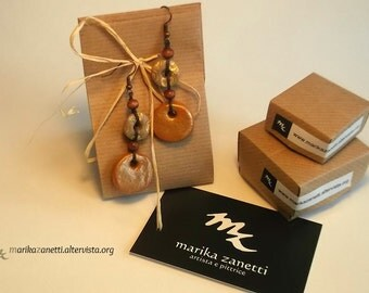 ethnic earrings handmade limited edition gift idea