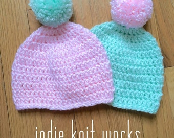 IKW Baby Caps 2 Pack