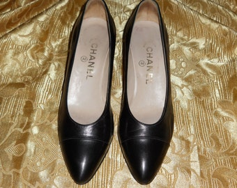 Genuine Vintage Chanel shoes genuine leather
